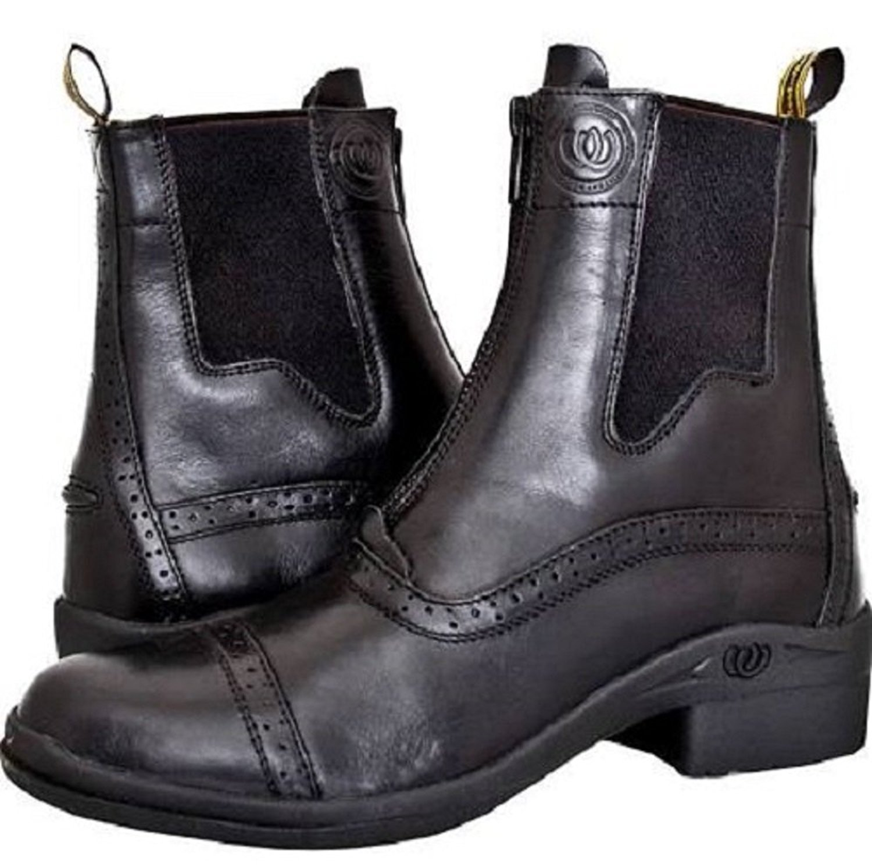 H Boot & W PaddockフロントZip Boot & 9 B010W84YHE 9 ブラック ブラック 9, blueowl:b2678a13 --- 2chmatome2.site