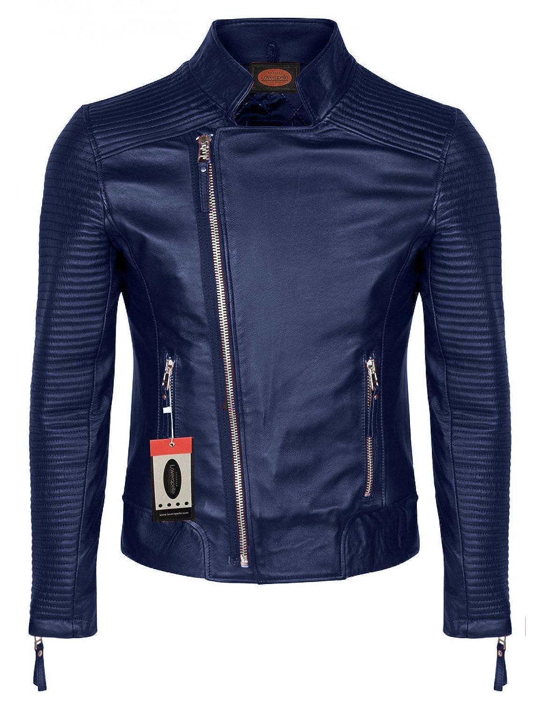 Laverapelle Men's Lamb skin Real Leather Jacket Black - 1510118