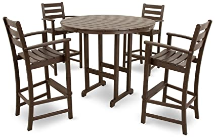 Amazon Com Trex Outdoor Furniture Txs119 1 Vl Monterey Bay 5 Piece
