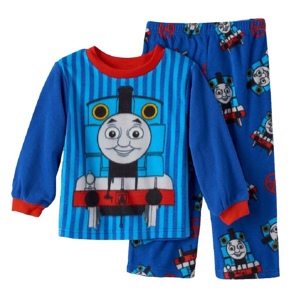 Thomas and Friends Little Boys Toddler Fleece Pajamas