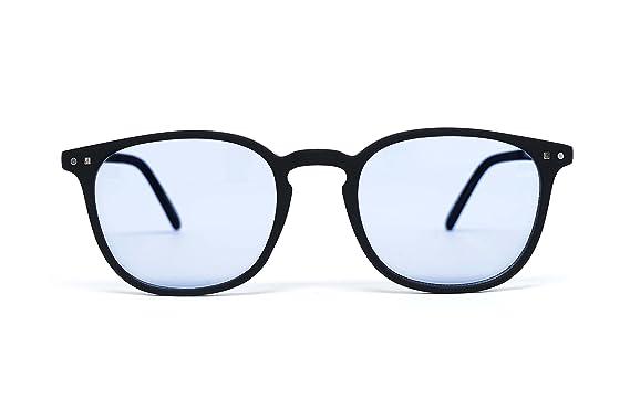 ba20f3e42d FEEGOO Lunettes de Soleil pour Homme/Femme Unisex Forme Carré Noir 100%  UV400 Verres