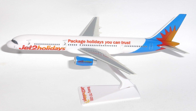 JET2 B737 Scale Model Plane 1:200 snapfit model Boeing 737-800 High Quality.