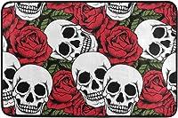 tapis de bain tête de mort 8