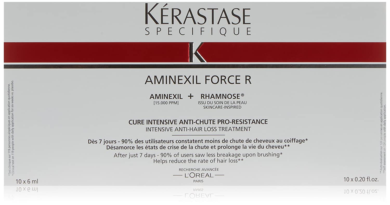 SPECIFIQUE Aminexil Force R Anti Hair Loss Treatment 10 x 6 ml KERASTASE U-HC-9154 42406