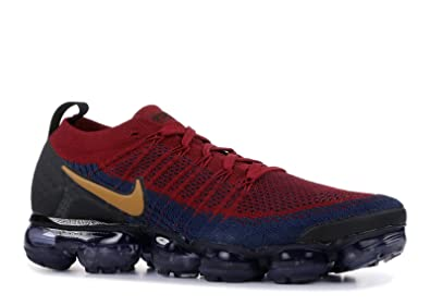 competitive price 7cae9 8fd77 Nike Men's Air Vapormax Flyknit 2, Team RED/Wheat-Obsidian ...