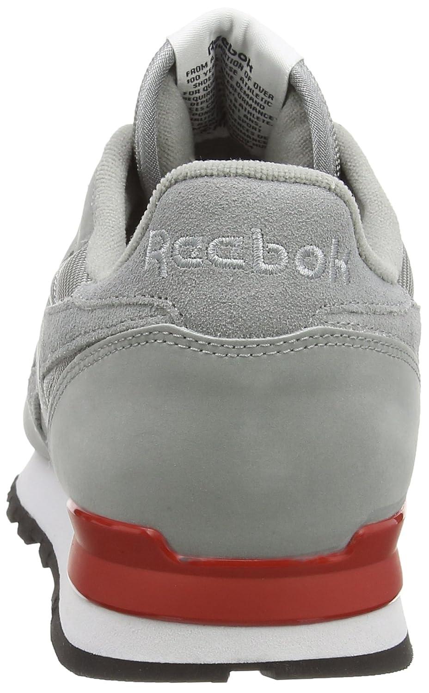 Reebok Zapatillas De Deporte De Cuero Clásico Reflejan Bajo-top De Los Hombres SmAQyr