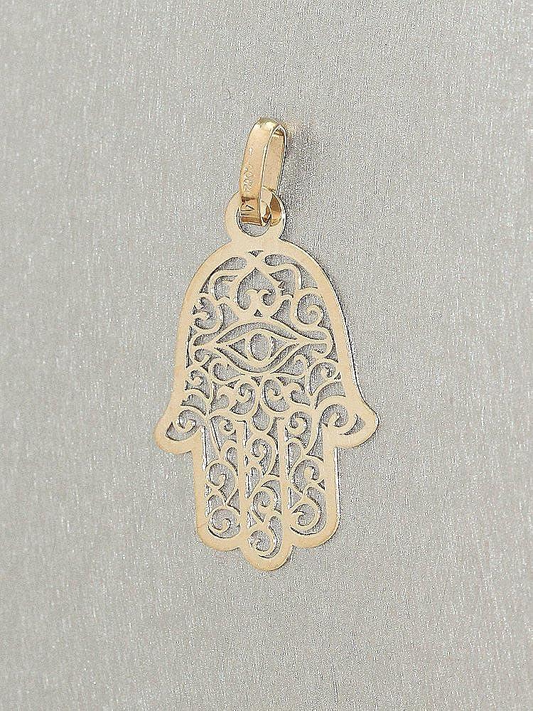 Pendentif main de Fatima Hobra-Gold en or jaune 14/carats