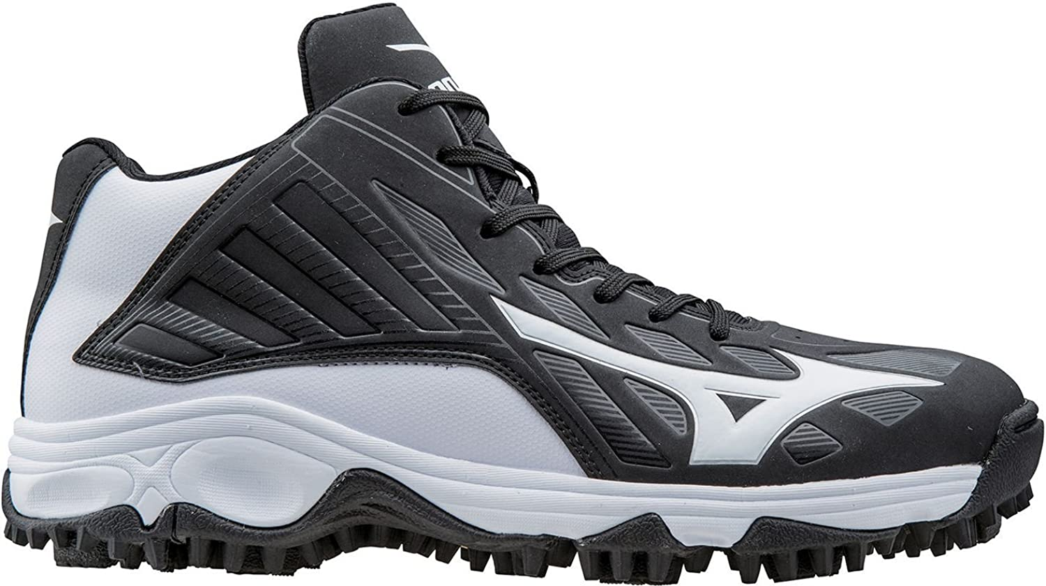 ミズノ スポーツ 野球 シューズ Mizuno Men's 9 Spike Advanced Erupt 3 Mi BlackWhite [並行輸入品] B073ZDCYQY 10