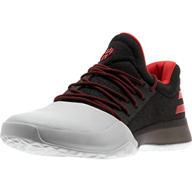 Harden Vol. 1 Mens in Black/Scarlet by Adidas, 7.5