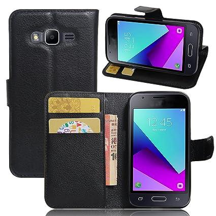 Samsung Galaxy J1 Mini Prime SM-J106 Funda de PU Cuero ...