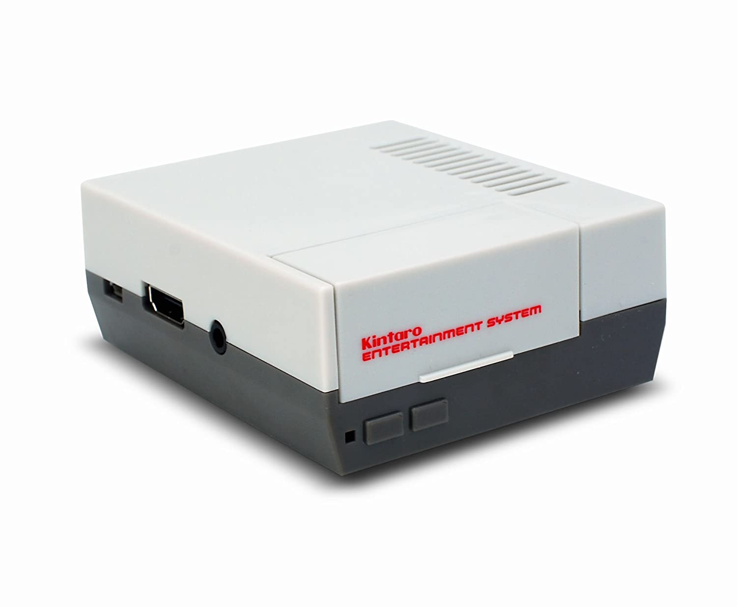 Kintaro Classic – NES Inspired Raspberry Pi Case – Old Skool Entertainment System - Retro Emulation Housing (Raspberry Pi Model 3, 2, B+)