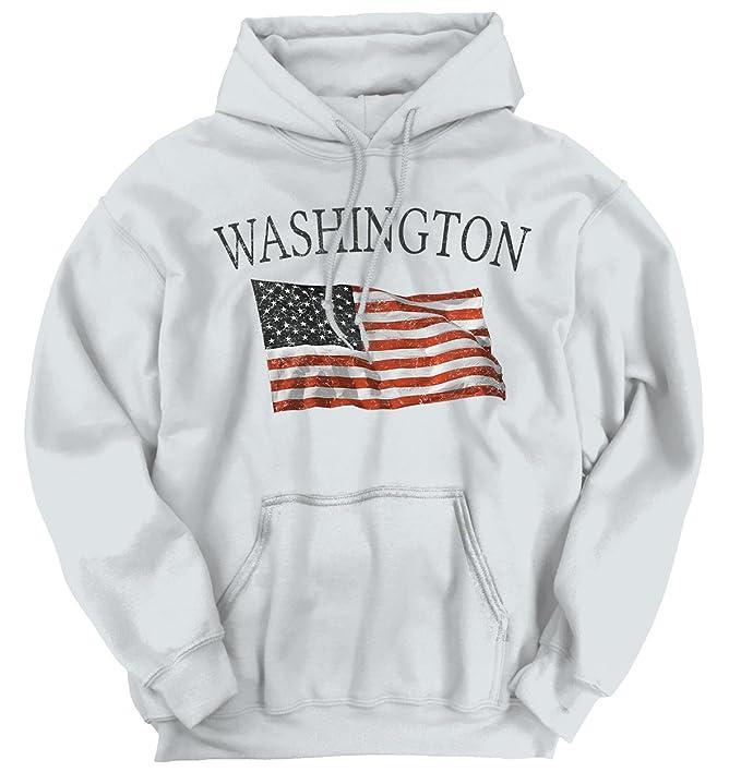 Washington patrióticos casa Estado americano diseño de bandera de ...