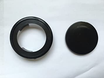 2.2\'\' Umbrella Hole Ring Cap Set for Glass Outdoors Patio Table ...