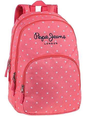 9b221404a98 Pepe Jeans School Backpack, 44 cm, 30.98 Liters, Orange 6362451 ...