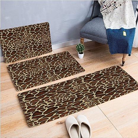 Vivid 3D Print Carpet Rug Non-slip Door Mat Floor Mat Kitchen Bathroom Pad US
