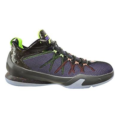 a3b288ef3cdd Jordan CP3.VIII AE Men s Shoes Black Hyper Crimson-Electric Green-Purple