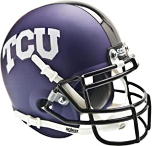 Amazon.com: TCU Horned Frogs Schutt Purple Matte Mini ...