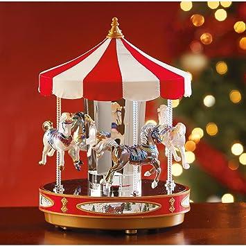 Amazon.com: Mr. Christmas Grand Carousel: Home & Kitchen