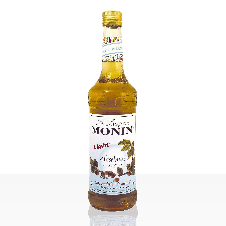 Monin Sirup Haselnuss Light zuckerfrei 700 ml: Amazon.de ...