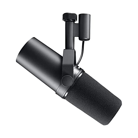 side facing shure sm7B