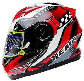 Amazoncom Motorcycle Modular Full Face Helmet DOT Certified - Motorcycle helmet decals graphicsmotorcycle helmet graphics the easy helmet upgrade