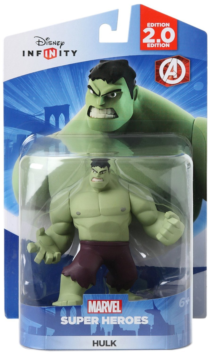 Disney Infinity: Marvel Super Heroes (2.0 Edition) - Hulk Figure - Not Machine Specific