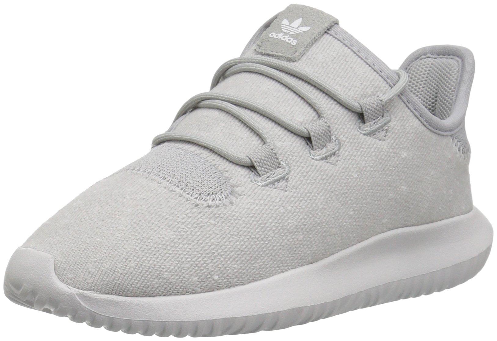 wholesale dealer f49cb 4b50a adidas Originals Boys' Tubular Shadow C Running Shoe, Grey Two Crystal  White, 2 Medium US Little Kid