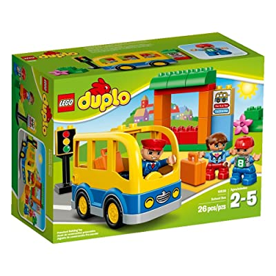 LEGO DUPLO Town School Bus 10528 Building Toy: Toys & Games