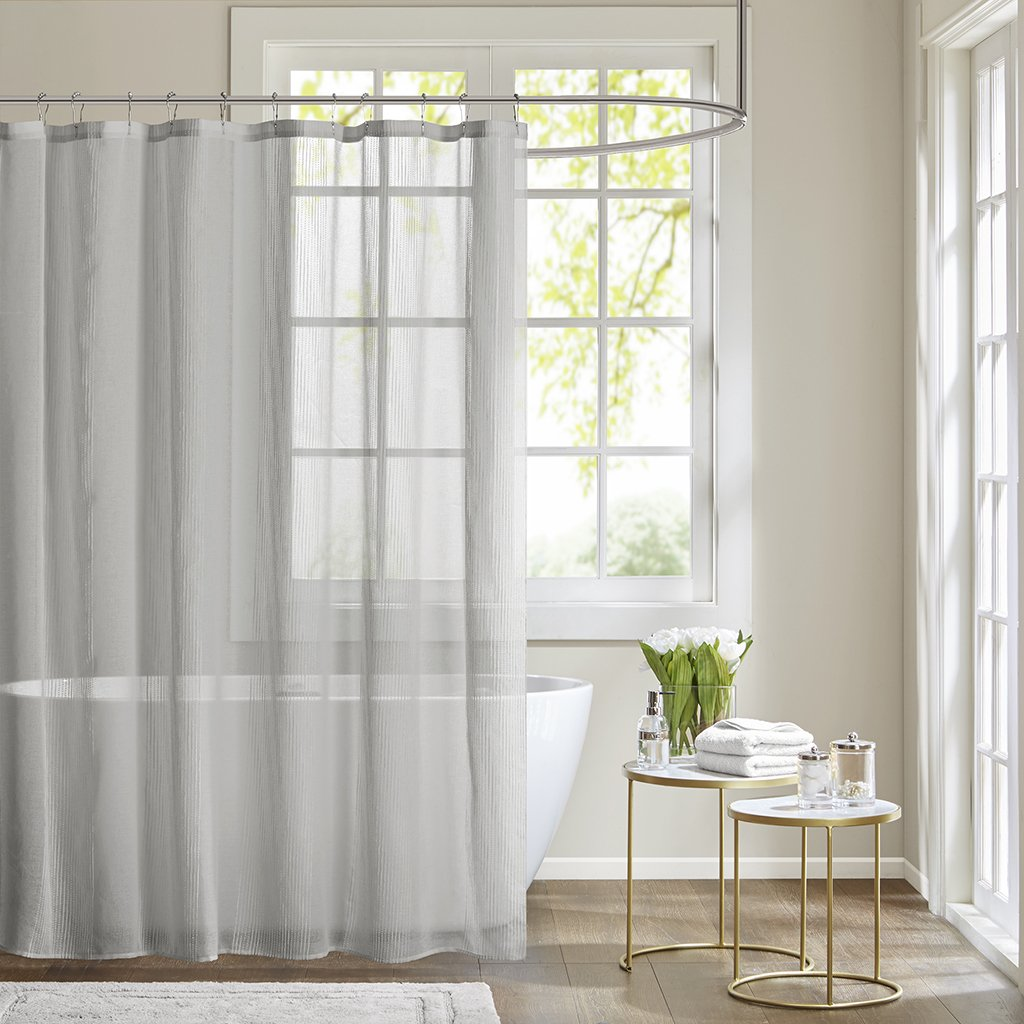 mold shower for sheer stain curtain remove curtains fabric silver white bathroom