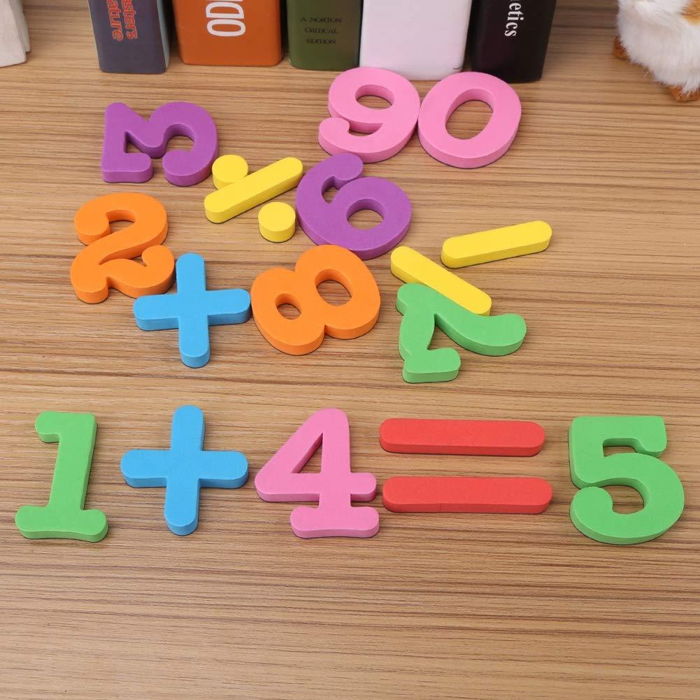 Zerodis Conjunto Completo Letras del Alfabeto del bebé magnético ...