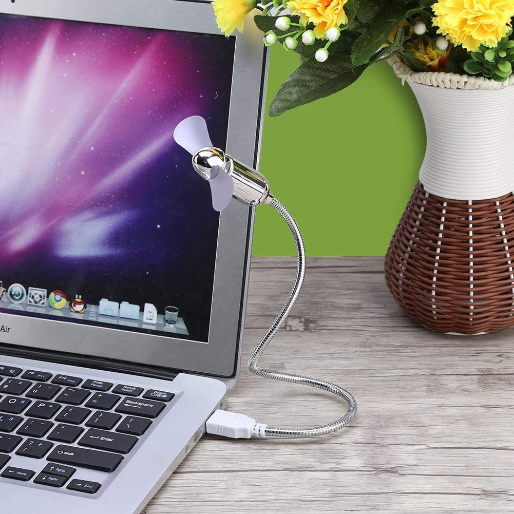 Mini Low Power Energy Saving Flexible for Notebook Laptop PC Computer Plug and Play Cooling Fan Redxiao USB Cooler Fan