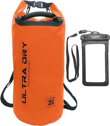 Sack with phone dry and long adjustable Shoulder Strap I Premium Waterproof Bag