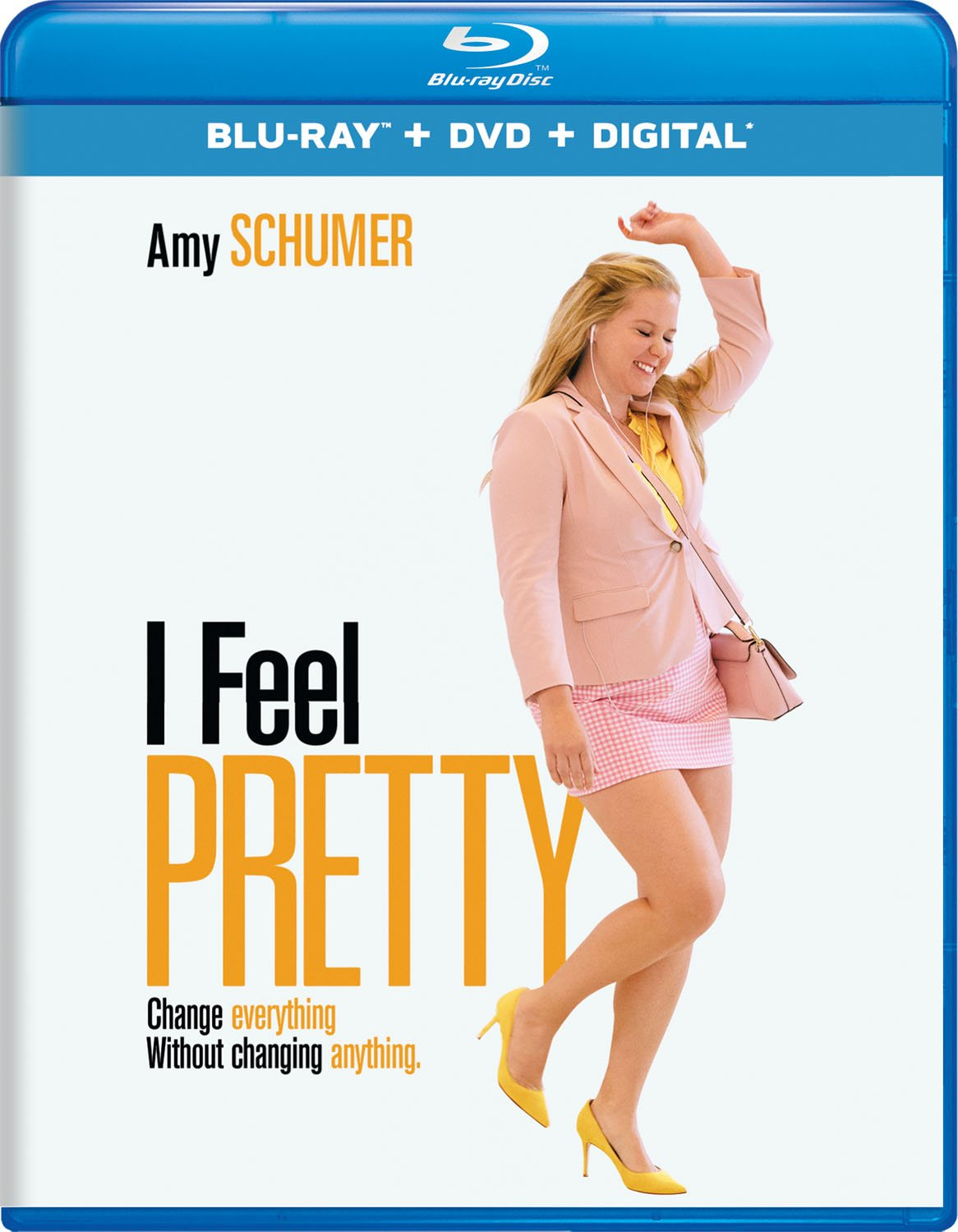 Blu-ray : I Feel Pretty (With DVD, 2 Pack, Digital Copy, 2PC)