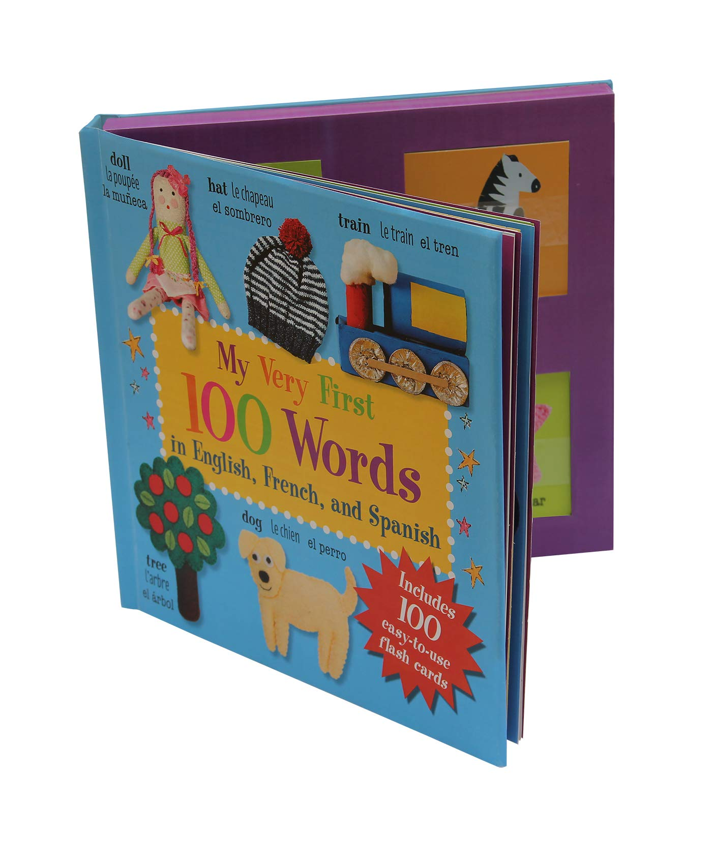 amazon com my very first 100 words in english french and spanish 9781782494546 cico kidz books 100 words in english french