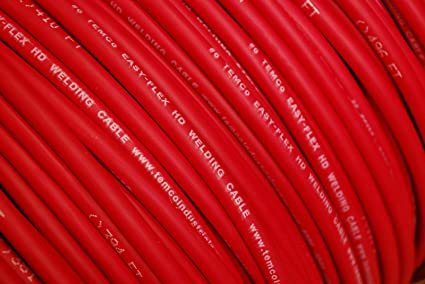 150/' FT 8 AWG GAUGE WELDING /& BATTERY CABLE BLACK USA COPPER
