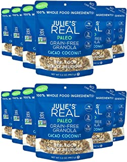 product image for Julie's Real Paleo Grain-Free Granola, Cacao Coconut - Pack of 12