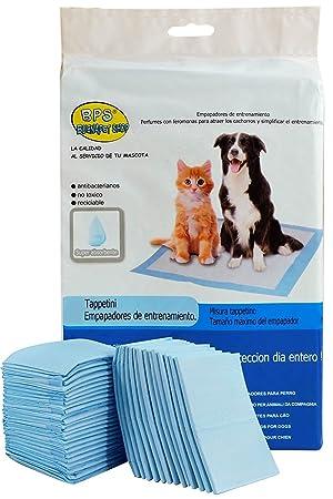 BPS® Empapadores de Entrenamiento para Perros Gatos Perfumes con Feromonas para Atraer los Cachorros y Simplificar el Entrenamiento (20pcs 50 * 40 cm) ...