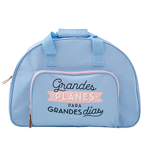 Mr.Wonderful Bolsa de Deporte Grandes Planes para Grandes ...