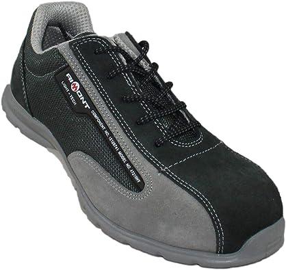 Zapatos aimont AF-Dos S1P SRC Seguridad Zapatos Zapatos de Escalada Verde Plana Trabajan