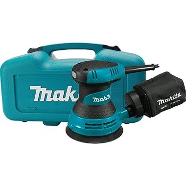Makita BO5030K 5  Random Orbit Sander, with Tool Case