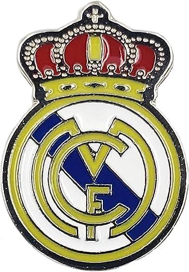 Banderas y Souvenirs Real Madrid Fanático de fútbol Pin España Liga de Fútbol: Amazon.es: Deportes y aire libre