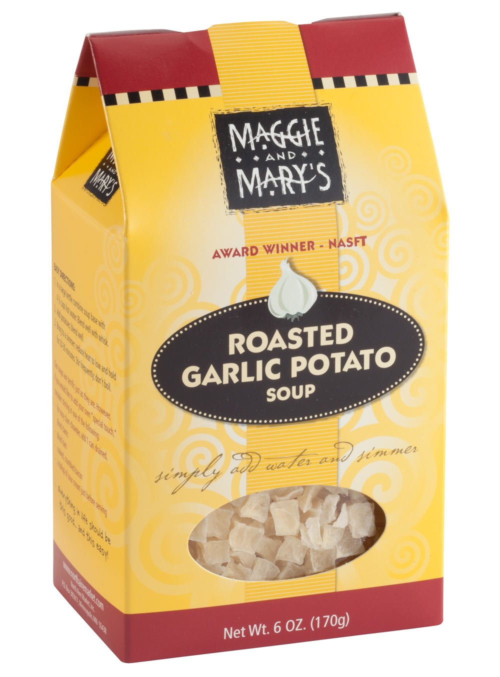 Maggie and Mary's Roasted Garlic Potato Soup