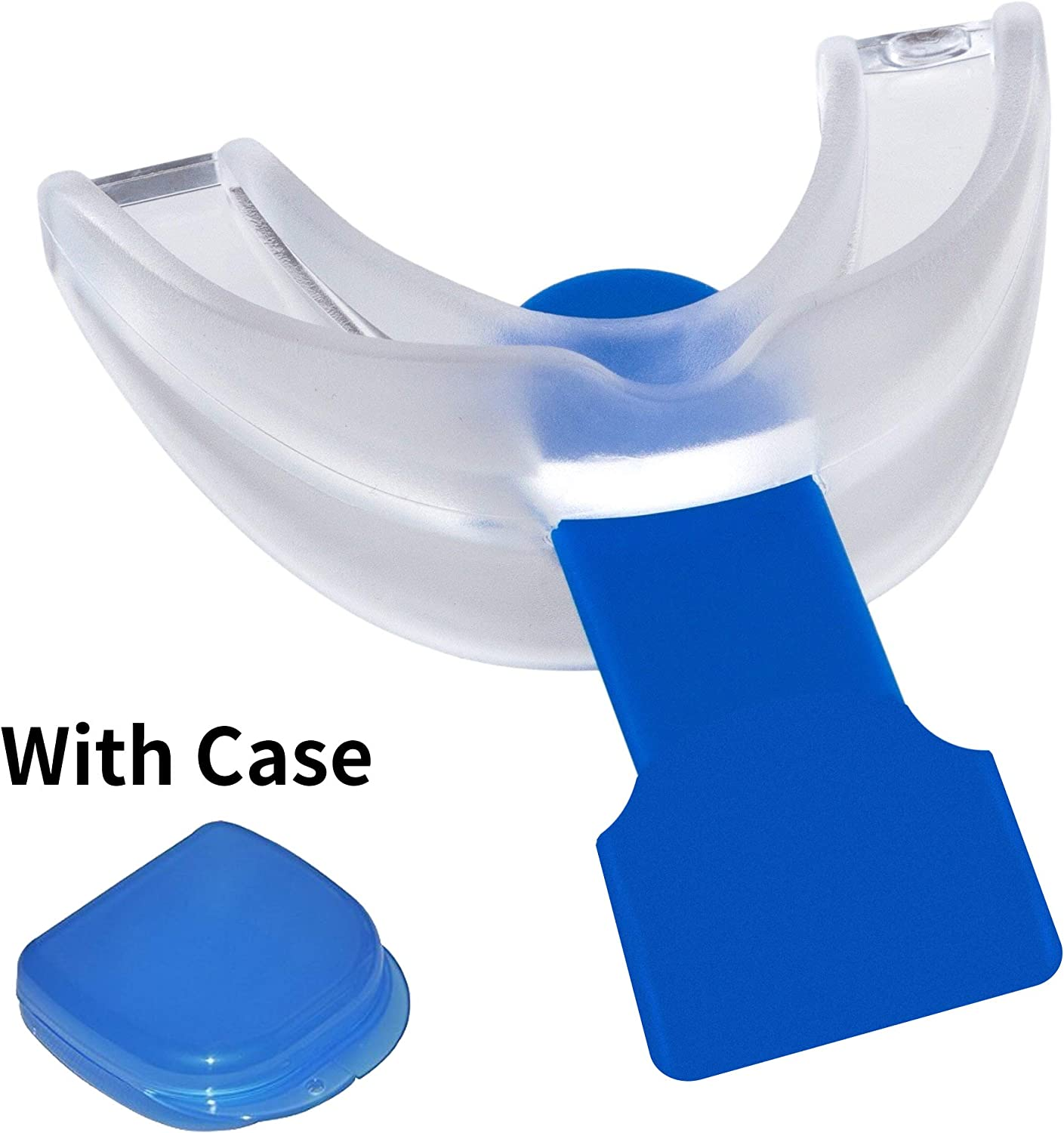 Rubber Adjustable Mouth Guard Teeth Protector w// Storage Case for Kid Adult
