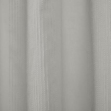 Madison Park Anna Sheer Shower Curtain Grey 72x72