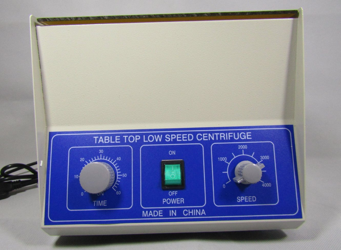 Electric Tabletop Lab Centrifuge LD-4 4000rpm 10mlx12 low speed centrifugal machine 220v