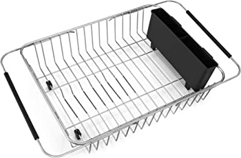 iPEGTOP Expandable Dish Drying Rack