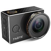 ThiEYE V5s 4K Wifi Action Camera con Filtri Sostituibili 360 Gradi di Rotazione 60 metri Impermeabile Sport Videocamera HD 1080p Fotocamera con Accessori Pieno