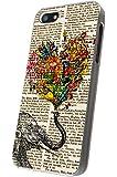 iphone 5 5S Aztec Ornate Elephant Flower Roses Trunk Fashion Trend Design Hülle Case Back Cover Metall und Kunststoff-Löschen Frame