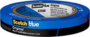 ScotchBlue Original Multi-Surface Painter's Tape, .70 inches x 60 yards, 2090, 1 Roll