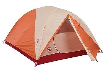 Big Agnes Rocky Peak 4 Person Mtnglo Tent - Orange/Cream  sc 1 st  Amazon.com & Amazon.com : Big Agnes Rocky Peak 4 Person Mtnglo Tent - Orange ...